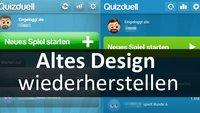 Quizduell: Altes Design wiederherstellen – So geht's