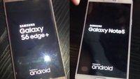 Samsung Galaxy Note 5 und S6 edge Plus auf neuen Bildern zu sehen