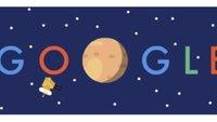 Pluto-Vorbeiflug der NASA-Sonde New Horizons: Ein Doodle für den Zwergplaneten