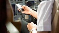 Handy im Flugzeug benutzen: Geht das oder ist das gefährlich?