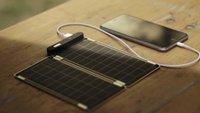"""Plug into the Sun: """"Solar Paper"""" lädt iPhone-Akku in 2,5 Stunden – wenn die Sonne scheint"""