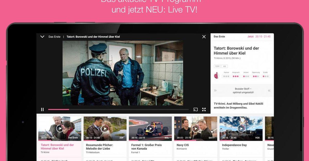 tv spielfilm live kosten und pakete f r das fernseh streaming im berblick giga. Black Bedroom Furniture Sets. Home Design Ideas