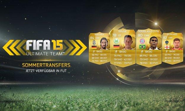 FIFA 15: Sommer-Transfers für Ultimate Team eingepflegt (mit Liste)