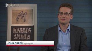 """GIGA im Interview mit John Green zu \""""Margos Spuren\"""""""