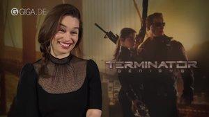 Terminator Genisys: Emilia Clarke im Interview mit GIGA Film