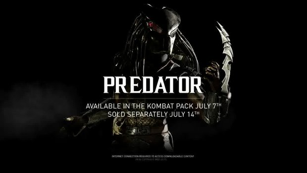 Mortal Kombat X: Predator-DLC hat einen Release-Termin
