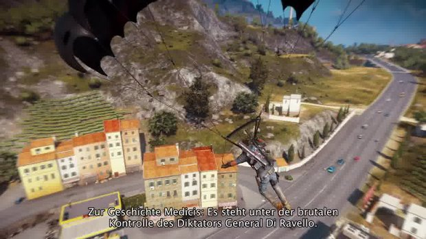 Just Cause 3: Neuer interaktiver Trailer und Gameplay-Video der E3