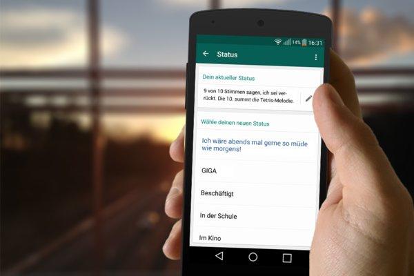 Whatsapp Sprüche 50 Verrückte Status Meldungen