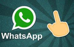 WhatsApp-Mittelfinger: So...