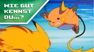 Wie gut kennst du Pokémon? (Quiz)