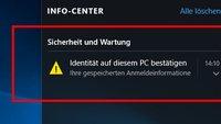 Windows 10: Identität bestätigen – Wozu ist das gut? So geht's