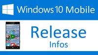 Windows 10 Mobile: Release und Start-Termin für Phones