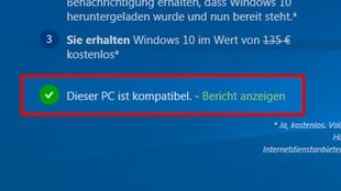 Windows 10: Kompatibiliät – Ist mein PC Windows-10-kompatibel? – So prüft ihr's