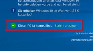 Windows 10: Kompatibiliät – Ist mein PC Windows-10-kompatibel? – So prüft ihr's