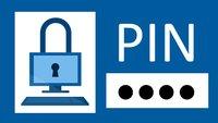 Windows 10: Mit PIN statt Passwort anmelden – Anleitung
