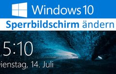 Windows 10 Sperrbildschirm...