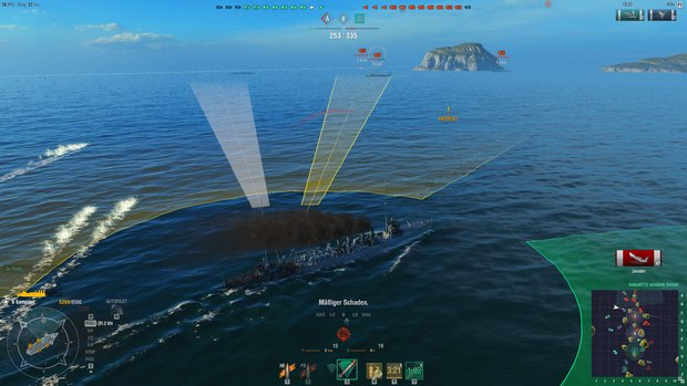 World of Warships: Sichtbarkeit – So funktioniert Spotting