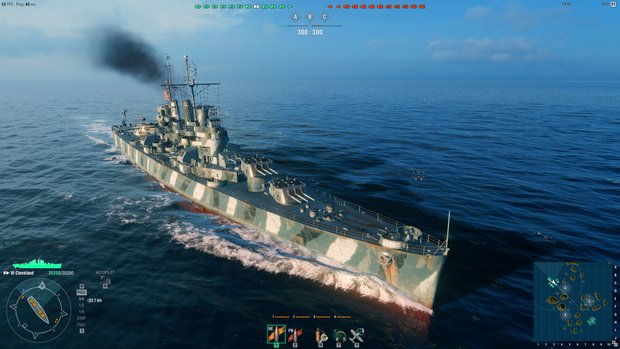 World of Warships: Cleveland-Guide – Die schwimmende Flugverbotszone