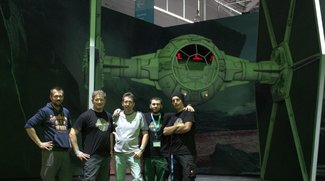 Star Wars - Battlefront: Riesiger TIE-Fighter auf der gamescom!