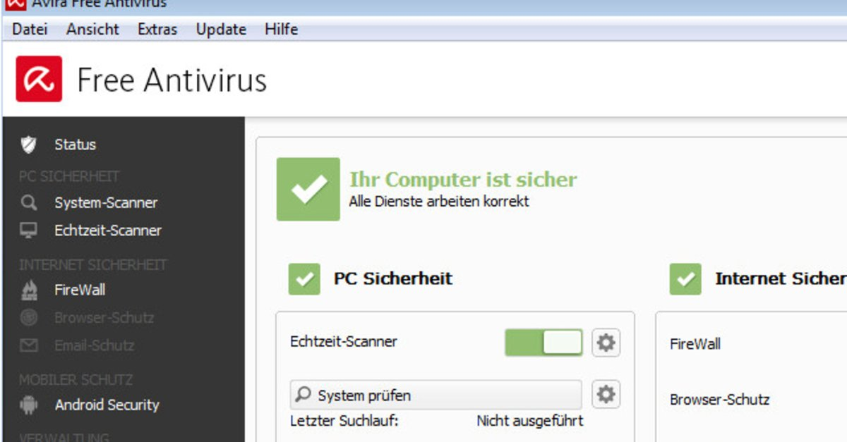 Avira Free Antivirus Download Giga