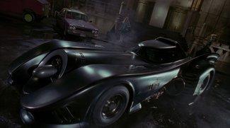 Batman Arkham Knight: Neues Batmobil im Look der ersten Filme