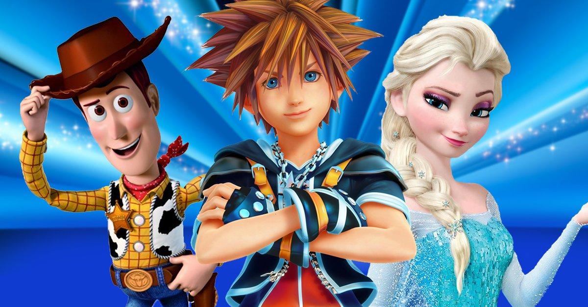 Kingdom Hearts 3 Welten