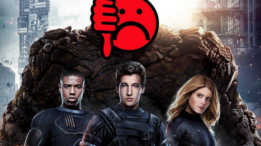 Jetzt gibt's auf Maul: Die ersten Fantastic Four-Kritiken sind... vernichtend!