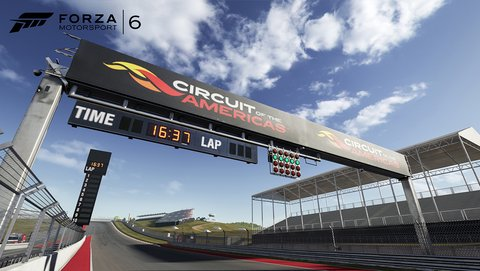 Forza Motorsport 6 Circuit of the Americas