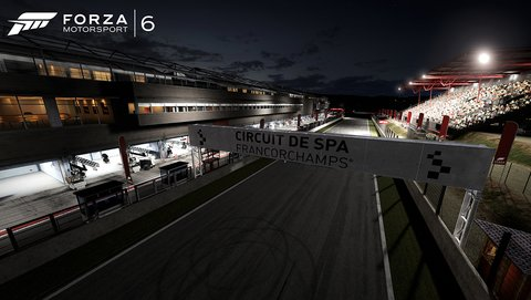 Forza Motorsport 6 Spa Nacht