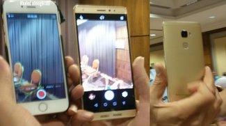 Huawei Mate S: Neue Fotos geleakt, Größenvergleich mit iPhone 6