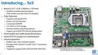 Intel 5x5: Neuer Mainboard-Standard für 1-Liter-PCs mit LGA-Sockel