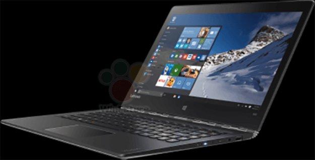 Lenovo Yoga 900-13 mit USB Type C & Windows 10 auf ersten Bildern