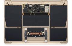 MacBook-Nutzer arbeiten...
