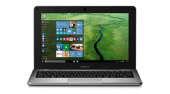 Medion Akoya S2218 Windows 10 Netbook für 239€ am 3. September bei Aldi Süd