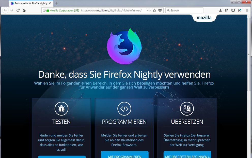 Mozilla-Firefox-Nightly