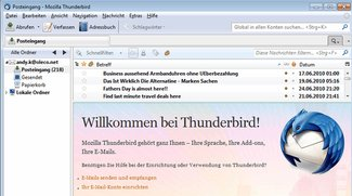 Mozilla Thunderbird 3.1 - April 2010 wirds veröffentlicht