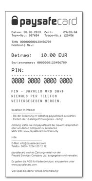 Paysafecard Per Telefonrechnung