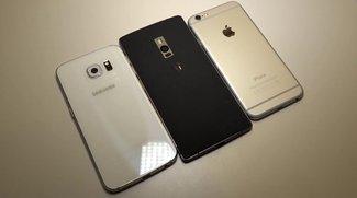OnePlus 2 vs. iPhone 6 vs. Samsung Galaxy S6 edge im Videovergleich