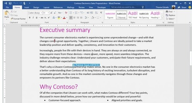 Office 2016 Collaboration