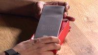OnePlus 2 ausgepackt und hochgefahren