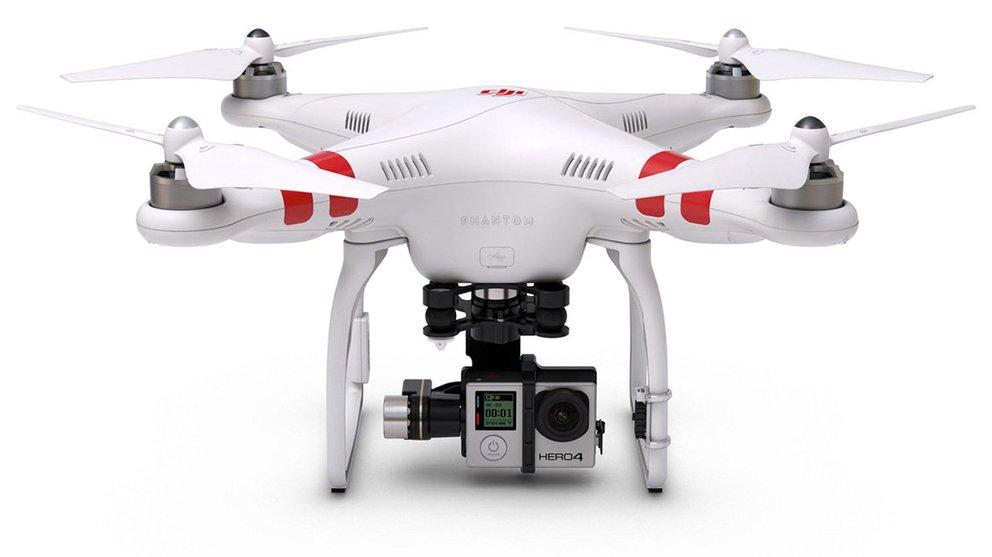 GoPro Drohne phantom 2 für action hero vier