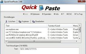 QuickTextPaste