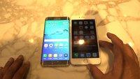 Samsung Galaxy S6 edge+ und iPhone 6 Plus im Videovergleich