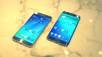 Samsung Galaxy S6 edge+ und Galaxy Note 5 im Videovergleich