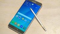 Samsung Galaxy Note 5 vorgestellt, im Hands-On-Video