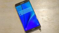 Samsung Galaxy Note 5: S-Pen kann das Phablet beschädigen [Video, Update]