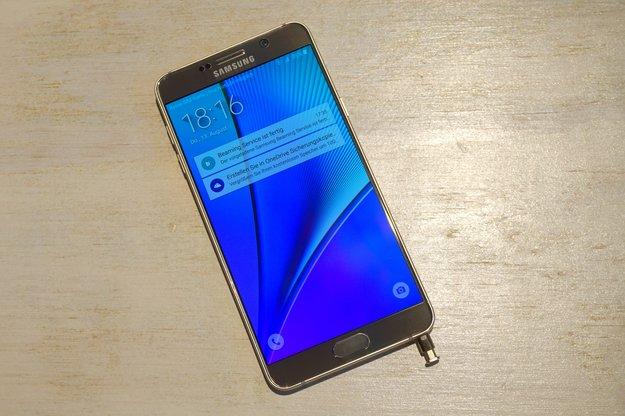 Galaxy Note 6 Lite: Arbeitet Samsung an einem Galaxy S7 in Phablet-Form?