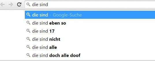 dumme menschen: google screenshot die sind doch alle doof