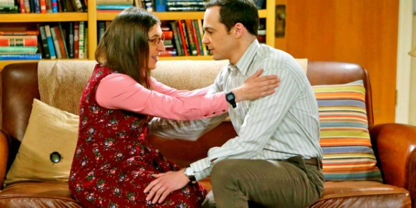Sheldon und Amy in The Big Bang Theory