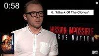 Netzfundstück: Der hinreißende Simon Pegg sortiert alle Star Wars-Filme von schlecht bis gut in einer Minute